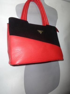 Сумка женская Prada цвет красный арт2061